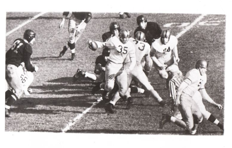 Item Detail - Doc Blanchard 52 yard TD run Army vs. Navy 1946 Wide ...