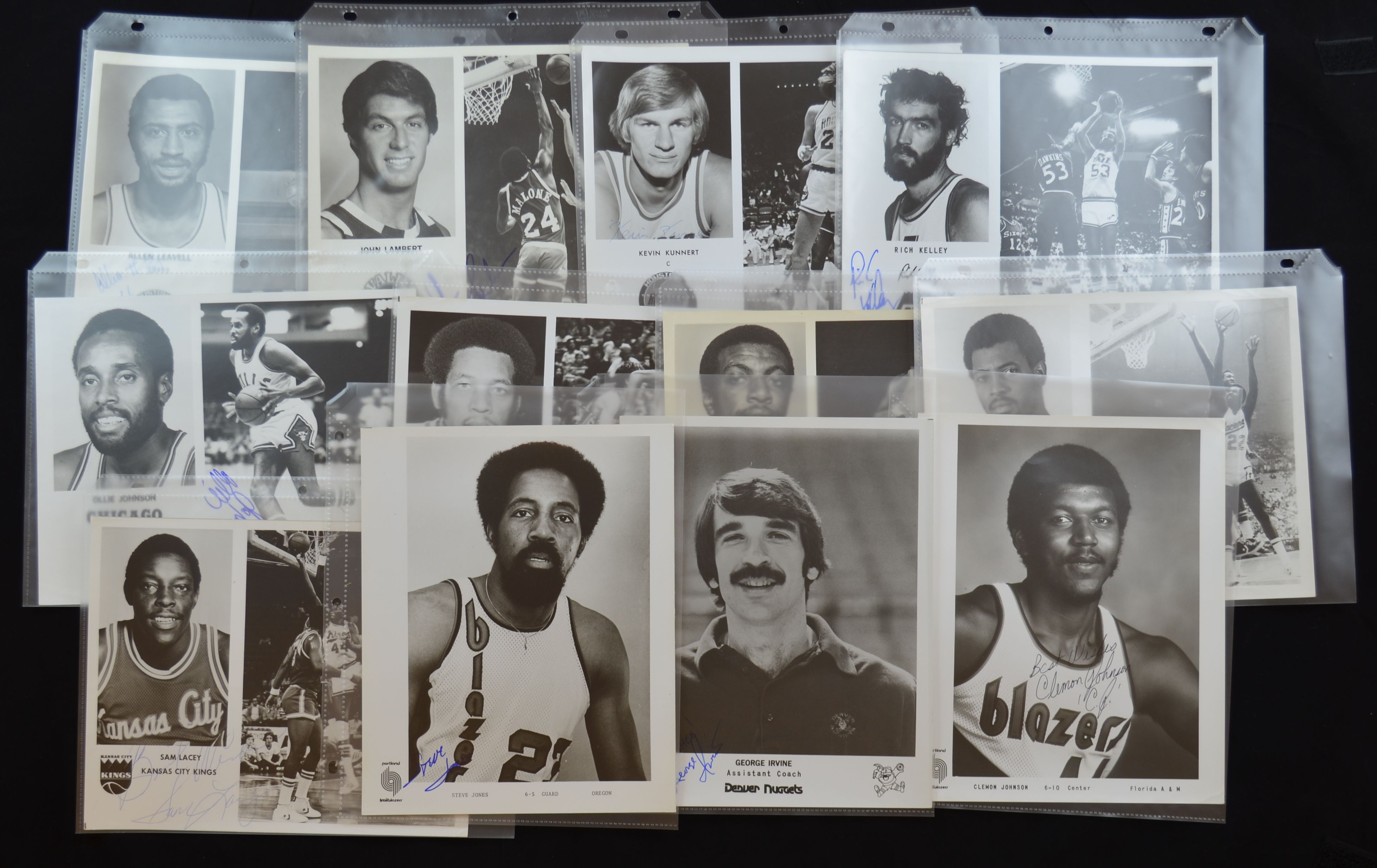 Lot Detail Collection of 150 Team Issued 1970 s Basketball NBA