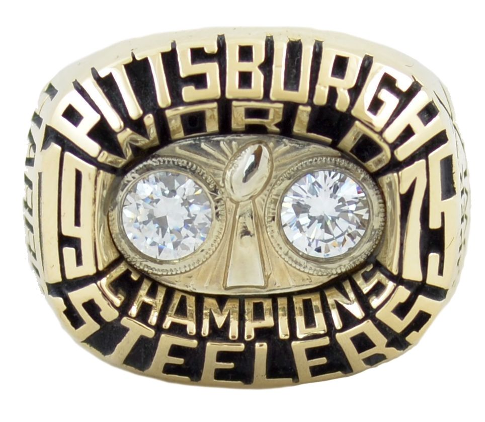Wholesale 1975 NFL Super Bowl X Pittsburgh Steelers Championship Ring  for sale