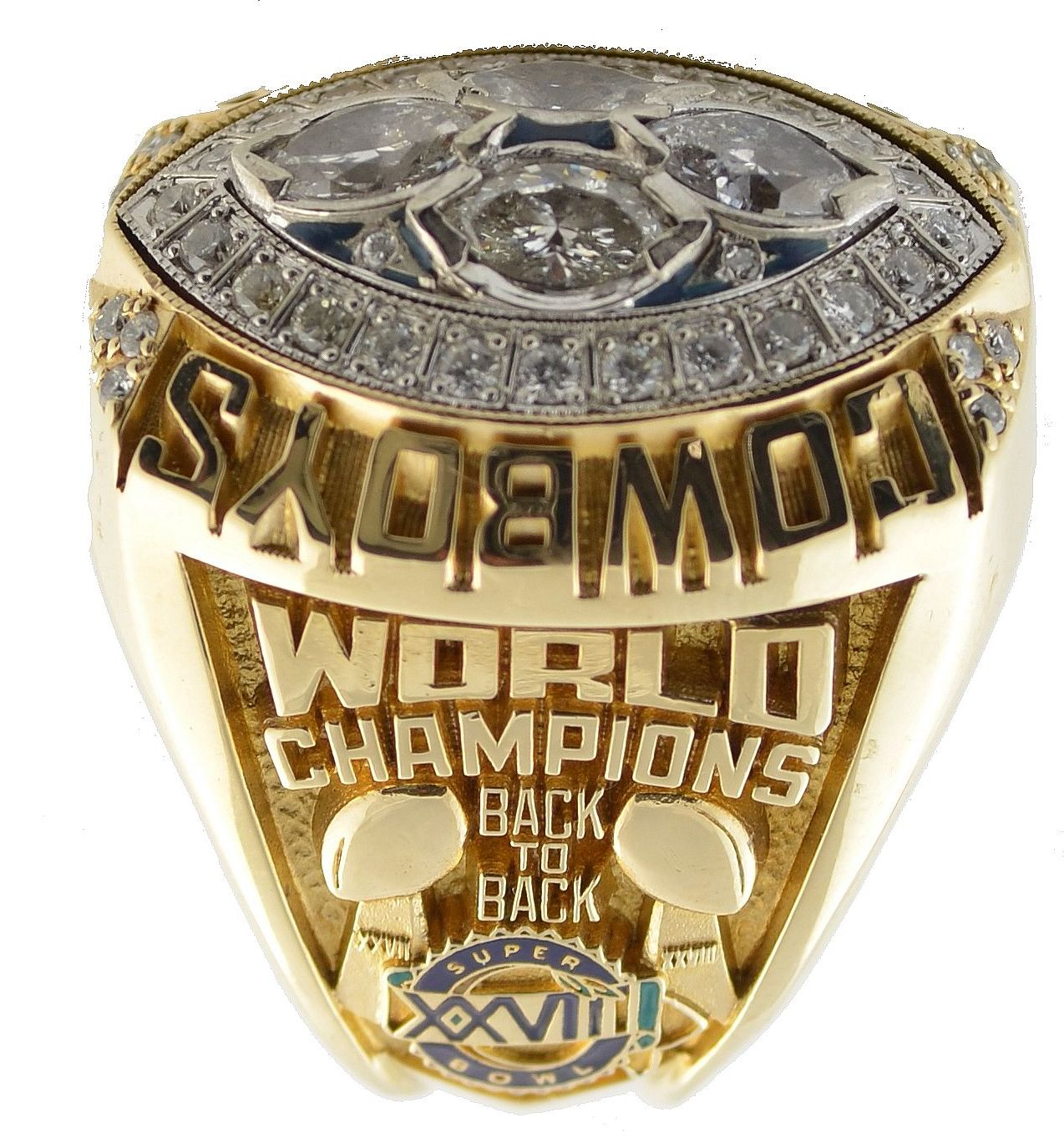 1993 NFL Super Bowl XXVIII Dallas Cowboys Championship Ring  supplier