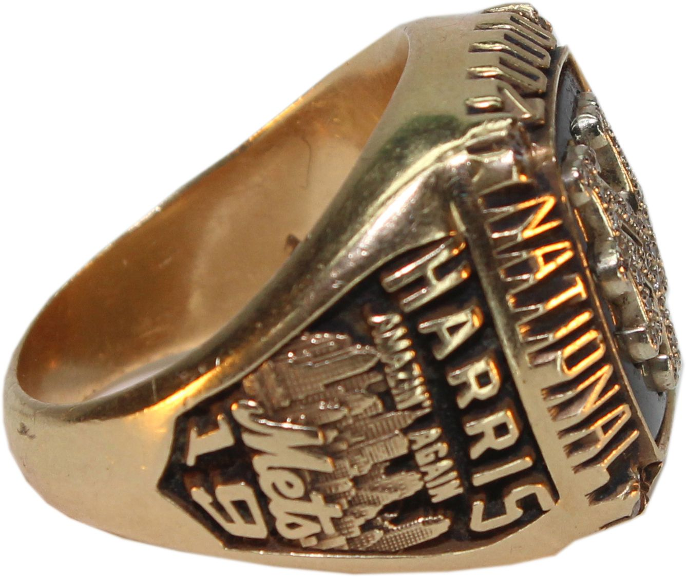 Lot detail 2000 new york mets nl championship ring 14 k 2000 new york mets nl championship ring 14 k lenny harris loa sciox Images