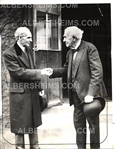 Thomas Edison & Henry Ford - The Most Famous Inventors of the 20th Century Original Photo