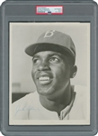 Jackie Robinson Signed AUTO 8x10 Photo Brooklyn Dodgers PSA/DNA